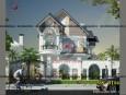 mẫu biệt thự phố 2 tầng hiện đại tại Bạc Liêu