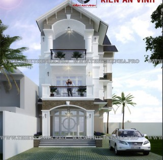 Thiết kế biệt thự đẹp tại Vĩnh Lộc - Bình Chánh