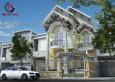 Mẫu thiết kế biệt thự phố 1 tầng đẹp Kiến An Vinh