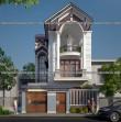 Ấn tượng mẫu thiết kế biệt thự phố 2 tầng đẹp bật nhất