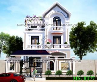Mẫu biệt thự bán cổ điển 3 tầng đẹp nhất