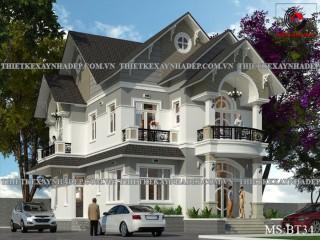 Mẫu thiết kế biệt thự đẹp 10x15 tại quận 12