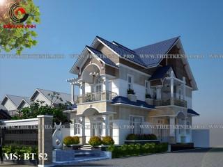 Mẫu thiết kế biệt thự đẹp tại Kiên Giang