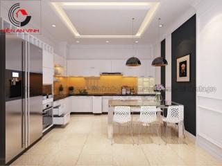 Những mẫu thiết kế phòng bếp đẹp mắt 2016