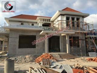 Thi công xây dựng biệt thự đẹp tại Đồng Nai