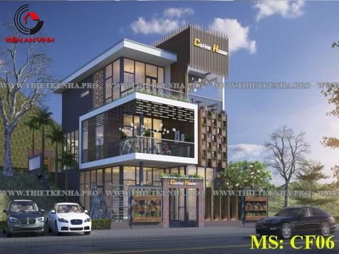 Mẫu thiết kế cafe đẹp 3 tầng tại Đà Lạt