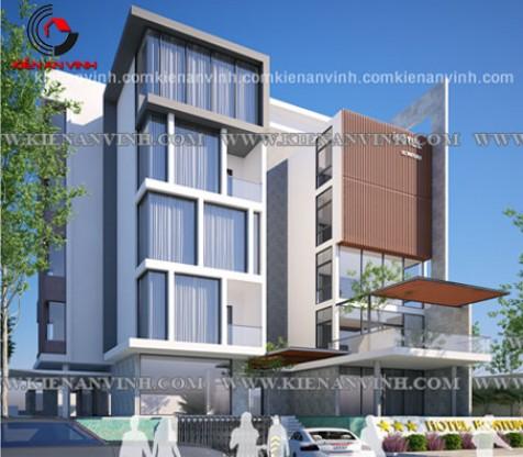 Mẫu thiết kế khách sạn phong cách hiện đại chuyên nghiệp tháng 02/107