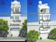 Mẫu cải tạo nhà phố 3 tầng 1 tum đẹp tại Quận 6