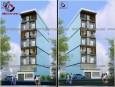 Thiết kế nhà phố sang trọng và hiện đại