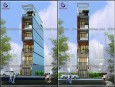 Mẫu thiết kế nhà phố 6 tầng đẹp