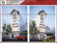 Mẫu thiết kế nhà phố 3 tầng 1 lửng đẹp tại Q.12