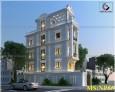 Mẫu thiết kế nhà phố bán cổ điển đẹp 4 tầng tại Quận 9