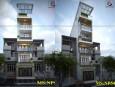 Mẫu thiết kế nhà phố đẹp 5 tầng 1 tum tại quận 6