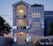 Mẫu thiết kế biệt thự 2 tầng đẹp hiện đại tại Đồng Nai