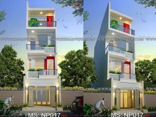 Ngắm nhìn thiết kế ngoại thất nhà phố 4 tầng đẹp