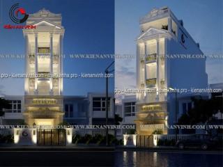 Mẫu thiết kế nhà phố kết hợp văn phòng làm việc