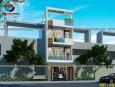 Mẫu thiết kế nhà phố 3 tầng 1 tum tuyệt đẹp cho năm 2017