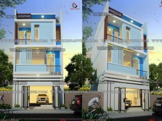 Thiết kế nhà phố 3 tầng diện tích nhỏ cực đẹp
