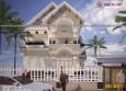 Mẫu biệt thự phố 1 tầng đẹp phong cách hiện đại tại Bình Thuận