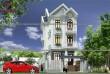 Mẫu thiết kế biệt thự phố 3 tầng đẹp bán cổ điển