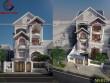 Mẫu dự án biệt thự phố 3 tầng 12x20m đẹp quận Tân Phú