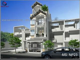 Mẫu kiến trúc thiết kế nhà phố 3 tầng 5x18m đẹp tại quận 2