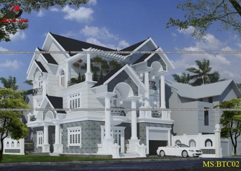 Đẳng cấp trên từng mẫu thiết kế biệt thự 2 tầng đẹp nhất