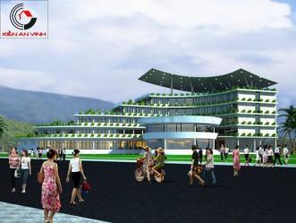 Thiết kế khu nghỉ dưỡng hiện đại sang trọng