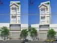 Mẫu kiến trúc thiết kế nhà ống đẹp 3 tầng Gò Vấp