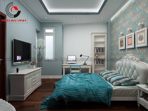 mẫu thiết kế nội thất phòng ngủ đẹp