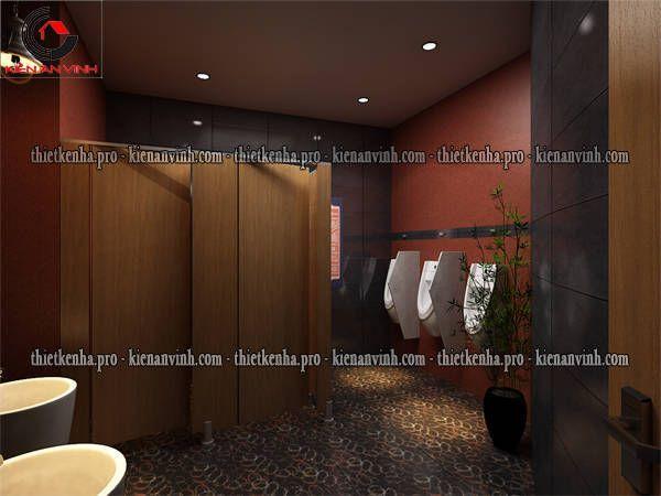khu vệ sinh nam