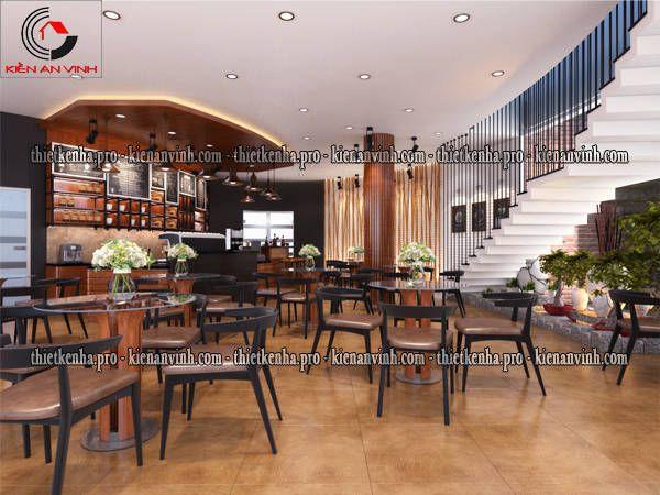 khu cafe tầng trệt