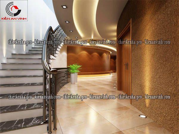 sảnh hành lang lầu 2