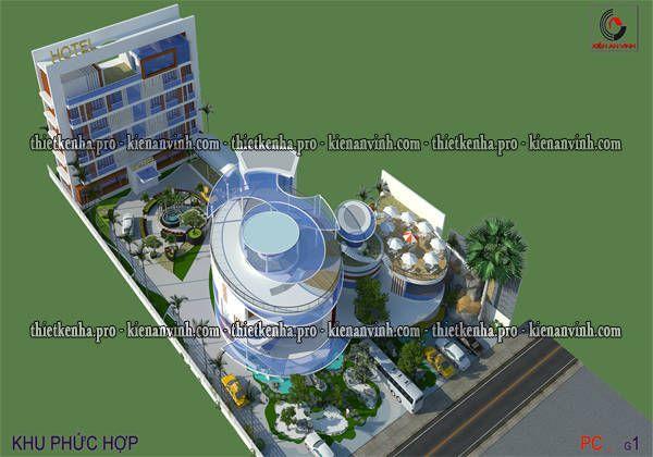 thiết kế khu phức hợp