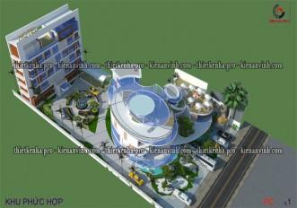 Dự án thiết kế khu phức hợp tại Long Thành Đồng Nai