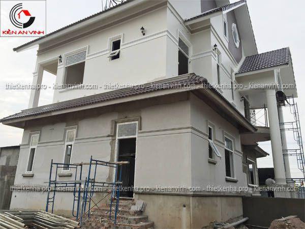 thi công xây dựng biệt thự 1 tầng