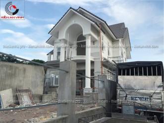 Công trình thi công xây dựng biệt thự 1 tầng tại Long Khánh