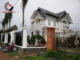 Công trình thi công xây dựng biệt thự sân vườn tại Đồng Nai