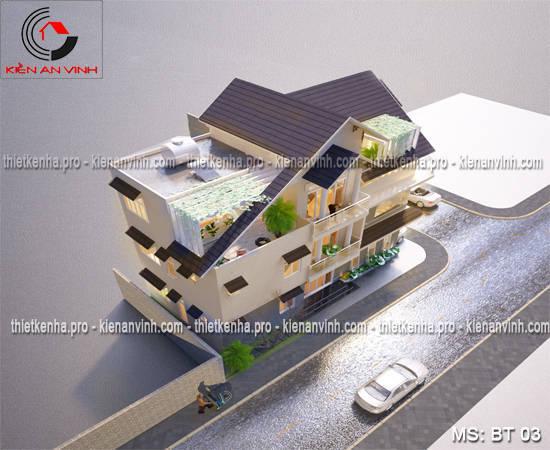 Tư vấn thiết kế biệt thự 2 tầng