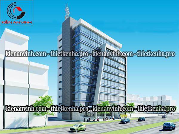 thiết kế cao ốc văn phòng