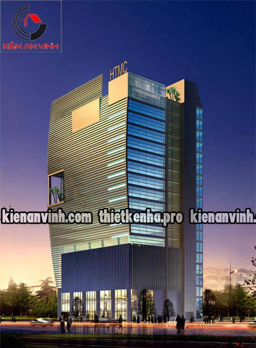Những mẫu thiết kế cao ốc văn phòng