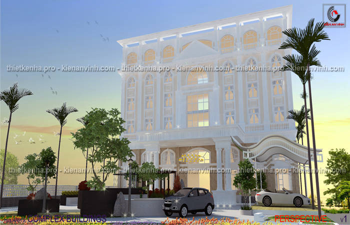 Dự án thiết kế khách sạn đẹp 3 sao