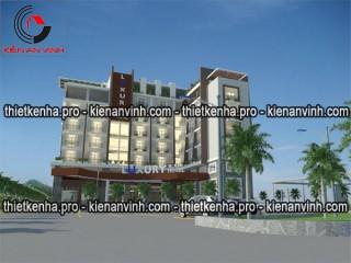 Dự án thiết kế khách sạn 3 sao tại Long Thành Đồng Nai