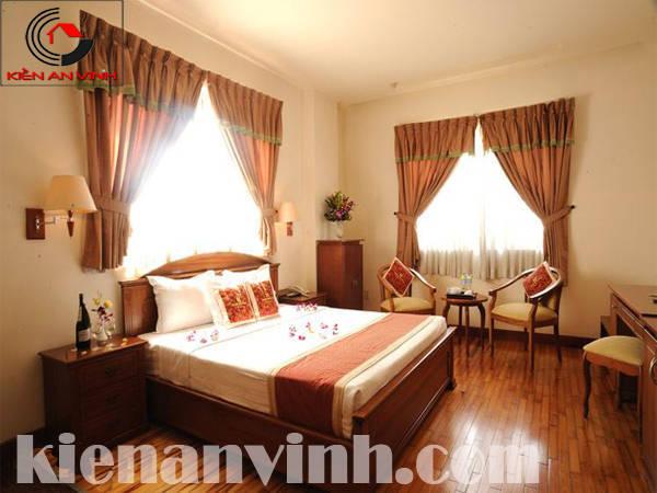 thiết kế khách sạn phòng ngủ