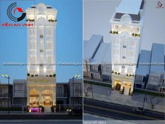 Mẫu thiết kế khách sạn cổ điển đẹp tại Bình Quới