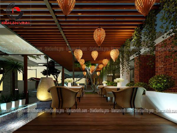 thiết kế nhà hàng hưng yên