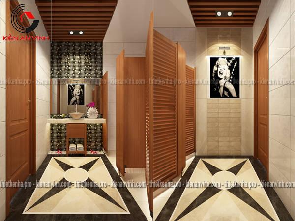 thiết kế nội thất wc
