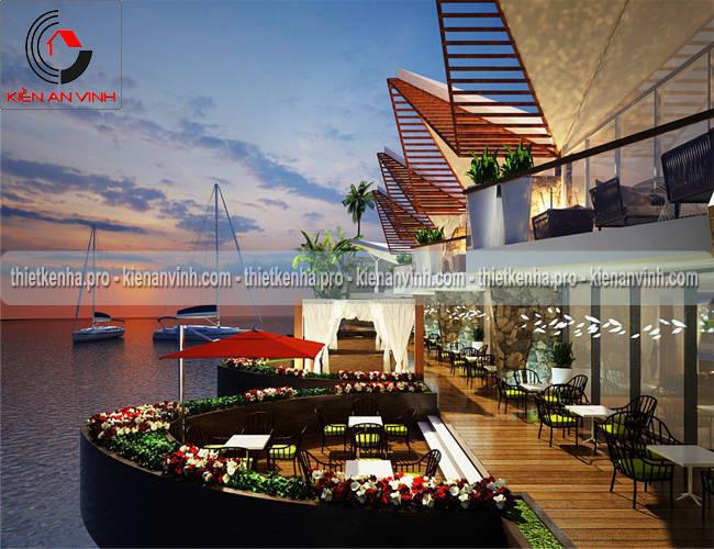 Tư vấn thiết kế nhà hàng resort