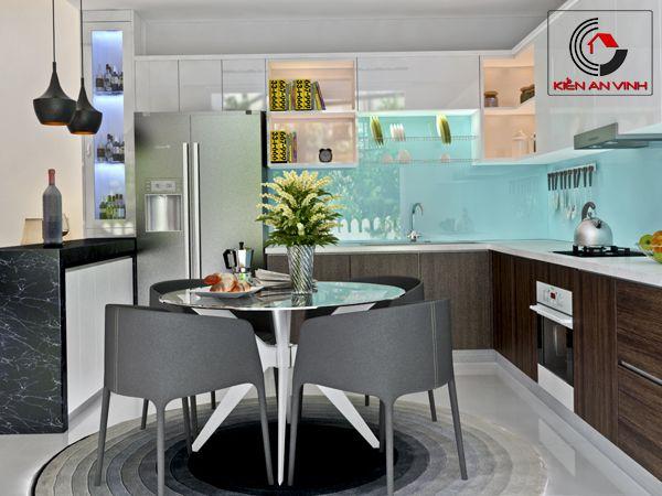 phòng bếp nhà 2 mặt tiền đẹp 02