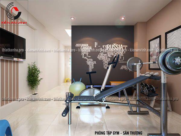 Nội thất phòng tập gym